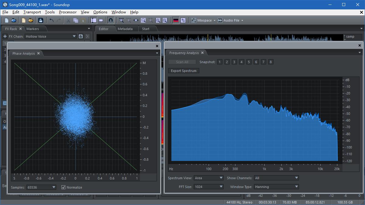 Analyze Audio