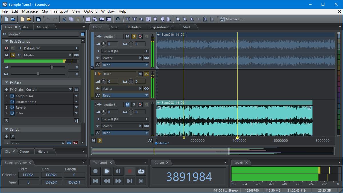 Multitrack Mixing
